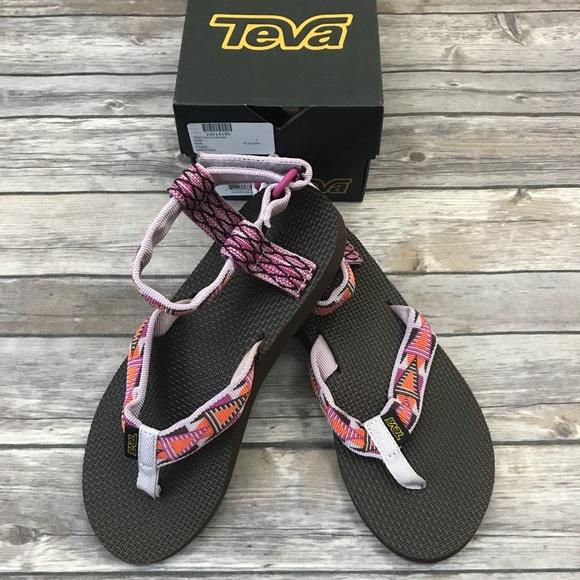 e81fdf677 New Teva Original Thong Platform Sandal